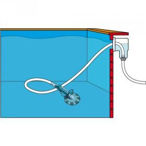 Pulitore piscina idraulico