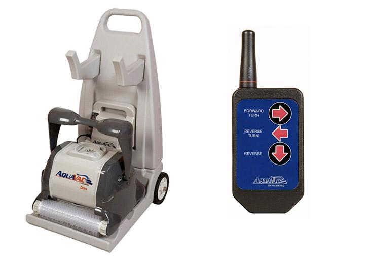 Carrello di trasporto e telecomando per il controllo manuale del robot